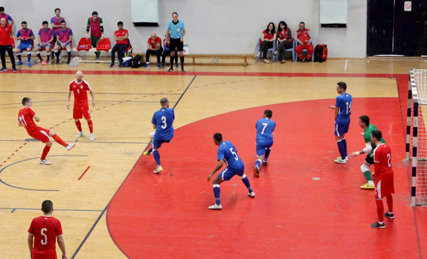 Futsal utakmica u Požarevcu: