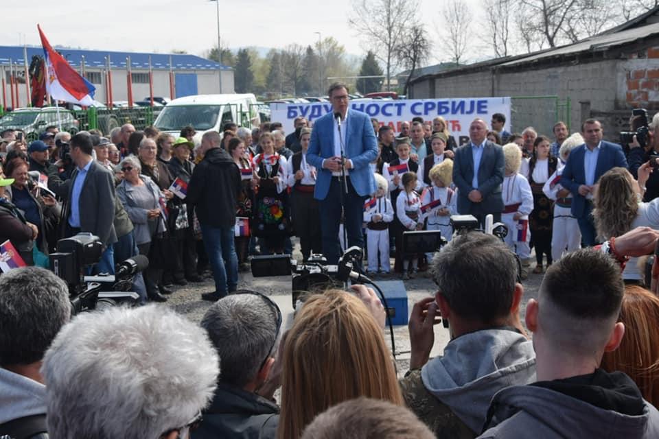 Александар Вучић у Петровцу на Млави