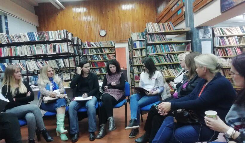 """Psihološka radionica """"Pričajmo o..."""" u Biblioteci u Кostolcu"""